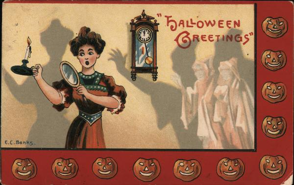 Halloween Greetings E.C. Banks