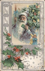 A Happy Christmas Postcard