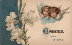 Easter Peace Be Yours Postcard