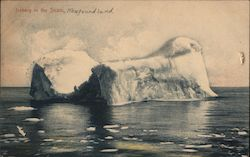 Iceberg in the Straits, Newfoundland Postcard