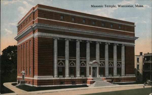 Masonic Temple Worcester Massachusetts