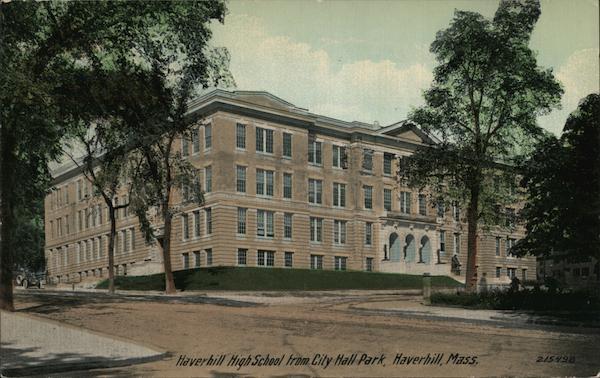 Haverhill, Massachusetts, view from Washington Square