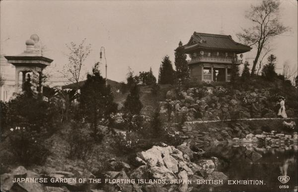 Japanese Garden of the Floating Islands, Japan-British Exposition