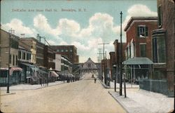 DeKalbe Ave from Hall St Postcard
