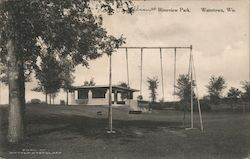Riverview Park Postcard
