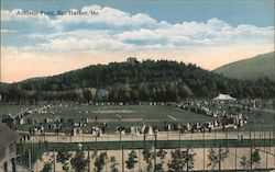 Athletic Field Postcard