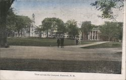 View Across the Campus Postcard