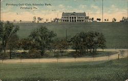 Pittsburg Golf Club, Schenley Park Postcard
