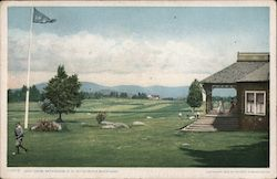 Golf Links, Bethlehem, New Hampshire, in the White Mountains Postcard