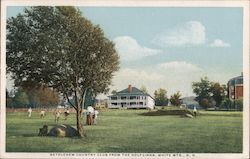 Bethlehem country Club from the Golf Links Postcard