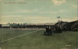 Base Ball Park Postcard