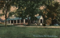 Golf and Country Club Postcard
