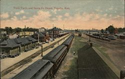 Train Yards and Santa Fe Depot