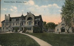 Masonic Home Postcard