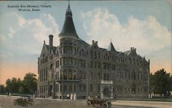 Scottish Rite Masonic Temple Postcard