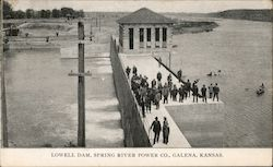 Lowell Dam, Spring River Power Co.