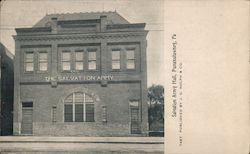 Salvation Army Hall Postcard