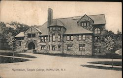 Gymnasium at Colgate College Postcard