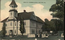Bailey St. Grammar School Postcard