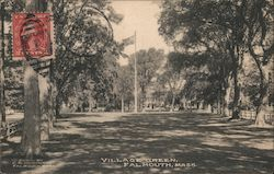 Village Green Postcard