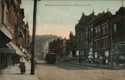 Main Street, looking E. Postcard