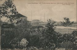 Farquhar's Garden, Showing Lord Cottage and Casino Postcard
