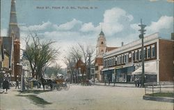 Main St., from P.O. Sq. Postcard