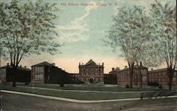 The Albany Hospital Postcard