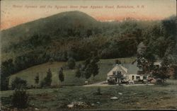 Mount Agassiz And The Agassiz Store From Agassiz Road Postcard
