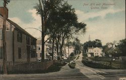 Fort Hill and Monument Postcard