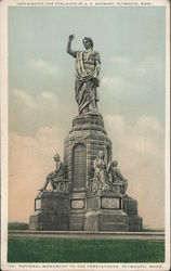 National Monument to the Forefathers Postcard