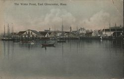 The Water Front Postcard