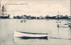 Lewis Bay and Cottages Postcard