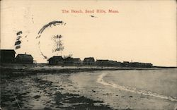 The Beach, Sand Hills Postcard