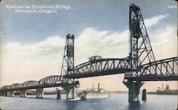Hawthorne (Madison) Bridge Postcard