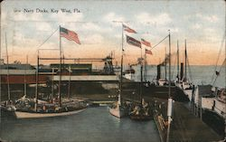Navy Docks Postcard