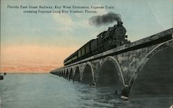 Florida East Coast Railway Postcard