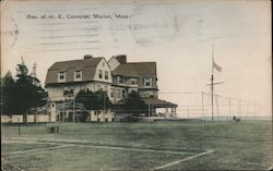 Res. of H. E. Converse Postcard