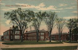 Albany City Hospital Postcard