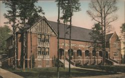 Recreation Building, U.S. Veterans' Administration Facility Postcard