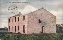 First State House of Kansas Postcard