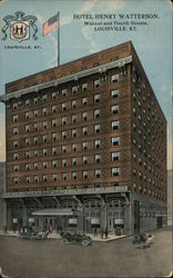 Hotel Henry Watterson, Walnut and Fourth Streets Postcard