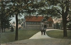 Thomas Crane Library Postcard