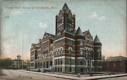 County Court House Postcard