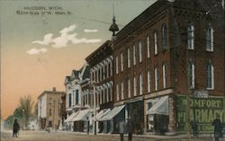 North Side of W. Main St. Postcard