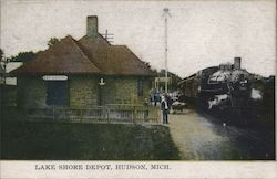 Lake Shore Depot Postcard