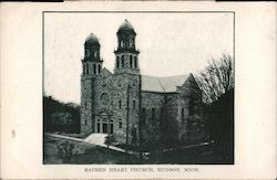 Sacred Heart Church Postcard