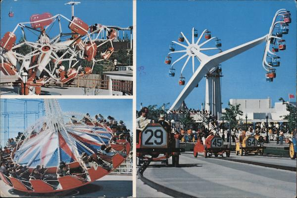 Amusement Rides - Marriott's Great America Santa Clara California
