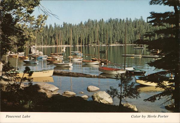 Pinecrest Lake California Merle Porter