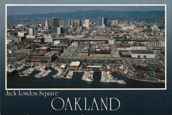 Jack London Square, Oakland California Gerald French